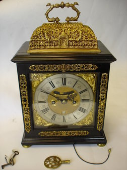 Antique Bracket Clocks & Mantel Clocks. Edmund Day Bracket Clock