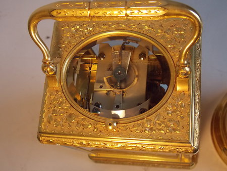 Antique Carriage Clocks. eng c c 4