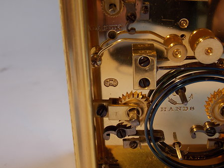 Antique Carriage Clocks. eng c c 6