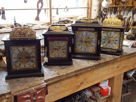Antique Bracket Clocks & Mantel Clocks. earlybrackets